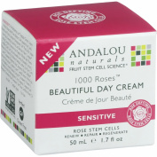 Andalou Naturals, Beautiful Day Cream, 1000 Roses, Sensitive, 1.7 oz