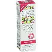 Andalou Naturals, Moroccan Beauty Oil, 1000 Roses, Sensitive, 1 fl oz