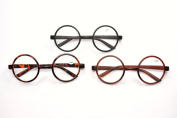 8360 Stylish Classic Retro Round Frame Reading Glasses with 8 Lens Strength Variations & Colours Black, Brown or Tortoise