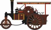 Oxford Diecast Fowler Steam Roller No 19053 Patricia B 76FSR004