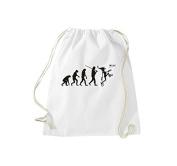 ShirtInStyle Gym Sack Gymnastics bag Cult bag Carnival Evolution Carnival, Faschingsclown Dawoud