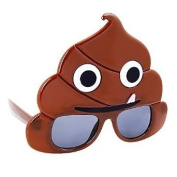 Party Costumes - Sun-Staches - Emotion Poo Toys Sunglasses SG2355