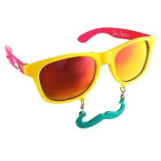 Party Costumes - Sun-Staches - Tropical Colour Toys Sunglasses SG1462