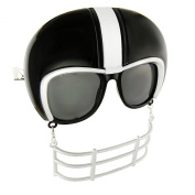 Party Costumes - Sun-Staches - Black Football Helmet Game Shade Toys SG1902