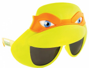 Party Costumes - Sun-Staches - TMNT Orange Mask Sunglasses Mask Toys SG1906