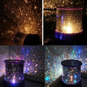 Kasstino Beautiful Sky Starry Cosmos Lamp Star Master Projector LED Night Light Sleeping