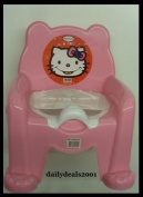 Babby Potty Trainer Hello Kitty Seat Chair With Removable Cover Pink New