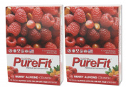 Pure Fit Nutritional Bar-Berry Almond Crunch-15 Bar