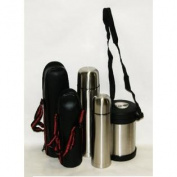 3 Piece Stainless Steel Vacuum Thermos Set