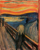 Paint By Number 41cm X 50cm Kit (Unframed-Box) Famous painting Edvard Munch The Scream