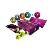 ZUMBA fitness EXHILARATE BODY SHAPING SYSTEM with Toning Sticks [Includes 5 DVDs, bonus music CD]