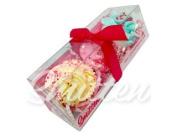 Mini Cupcake Bath Bombs Love Trio Gift Set by Feeling Smitten Bath Bakery