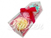 Mini Cupcake Bath Bombs Love Trio Gift Set by Feeling Smitten Bath Bakery