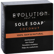 Evolution Salt Bath Soap - Sole - Coconut - 130ml