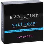 Evolution Salt Bath Soap - Sole - Lavender - 130ml