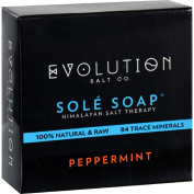 Evolution Salt Bath Soap - Sole - Peppermint - 130ml