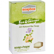 SoapBox Bar Soap - Elements - Tea and Ginger - 150ml