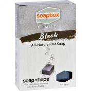 SoapBox Bar Soap - Elements - Detox - Black - 150ml