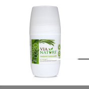Via Nature Deodorant - Roll On - Rosemary Sandalwood - 70ml - Dairy Free - Vegan