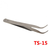 All Purpose Industrial Stainless Steel Anti Magnetic Static Tweezers Set Maintenance Tools Kit 2Pc/6Pc