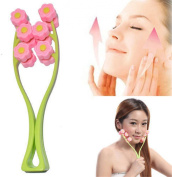 Denshine® 1pc New Face Up Roller Massage Slimming Remove Chin Neck Facial Massager Beauty Tool