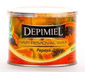 Depimiel Brazilian Hair Removal Soft Wax Papaya