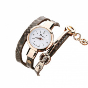 Orangesky Fashion Women Metal Strap Watch