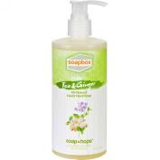 SoapBox Hand Soap - Liquid - Elements - Tea and Ginger - 350ml