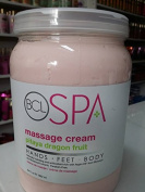BCL SPA Massage Cream Pitaya Dragon Fruit 64 Fl Oz 1892 Ml