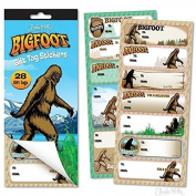 Bigfoot Gift Tag Stickers by Accoutrements