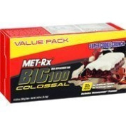 MET-Rx Colossal Super Cookie Crunch, Value Pack, 4-100ml Bars by MET-Rx