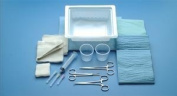 749 Tray Laceration With Web NH Lac Adson Iris Sterile Latex Ea Part No. 749 by- Busse Hospital Disposable by The MarbleMed Incorporated