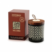 Esteban Teck & Tonka - Refillable Scented Decorative Candle 170g