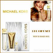 Sporty Citrus Women By Michael Kors 3 Pc Gift SET 100ml EAU De Parfum Spray.