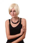 STfantasy Hot Blonde Hair Wigs Short Straight Women Wig