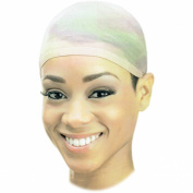 SSK Stocking Wig Cap 2 pack - Light Stretch and Comfy with Wide No-Slip Band