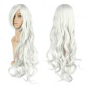 Lewang 80cm Cosplay Party Long Curly Hair Anime Wigs Full Hair Wig