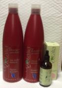 Victalia Antidandruff Shampoo 1000ml, Conditioner and Dandruff Prevention Scalp Treatment 100ml Bundle