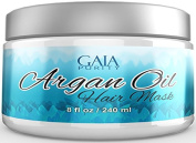Best Argan Oil Hair Mask - Formulated to Repair Damaged Hair - Vitamin Rich Conditioner Hydrates Dry Hair - Perfect Treatment after Shampoo - Contains Argan Oil, Coconut Oil, Shea Butter, Jojoba Oil