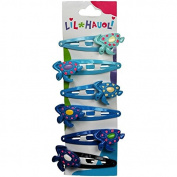 Lil Hauoli Kids Hair Snap Clips Set of 6 Turtle