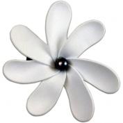 Foam Flower Medium Hair Clip Tiare