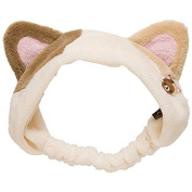 San-x Rilakkuma Hair Band with Cat Ears White