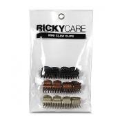 RickyCare Mini Claw Clips - 12PC