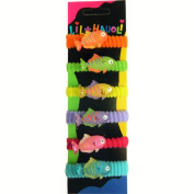 Lil Hauoli Kids Ponytail Elastic Bands Set of 5 Spotted Fish