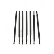RickyCare No-Crease Large Black Bobbi Pins