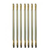 RickyCare No-Crease Medium Gold Bobbi Pins
