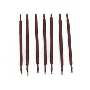 RickyCare No-Crease Medium Brown Bobbi Pins