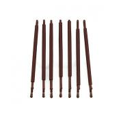 RickyCare No-Crease Large Brown Bobbi Pins