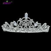 Bridal Wedding Crown Austrian Crystals Princess Tiara Women Headpiece Pageant Hair Jewellery SHA8719