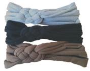 Knotted Turban Headband Set